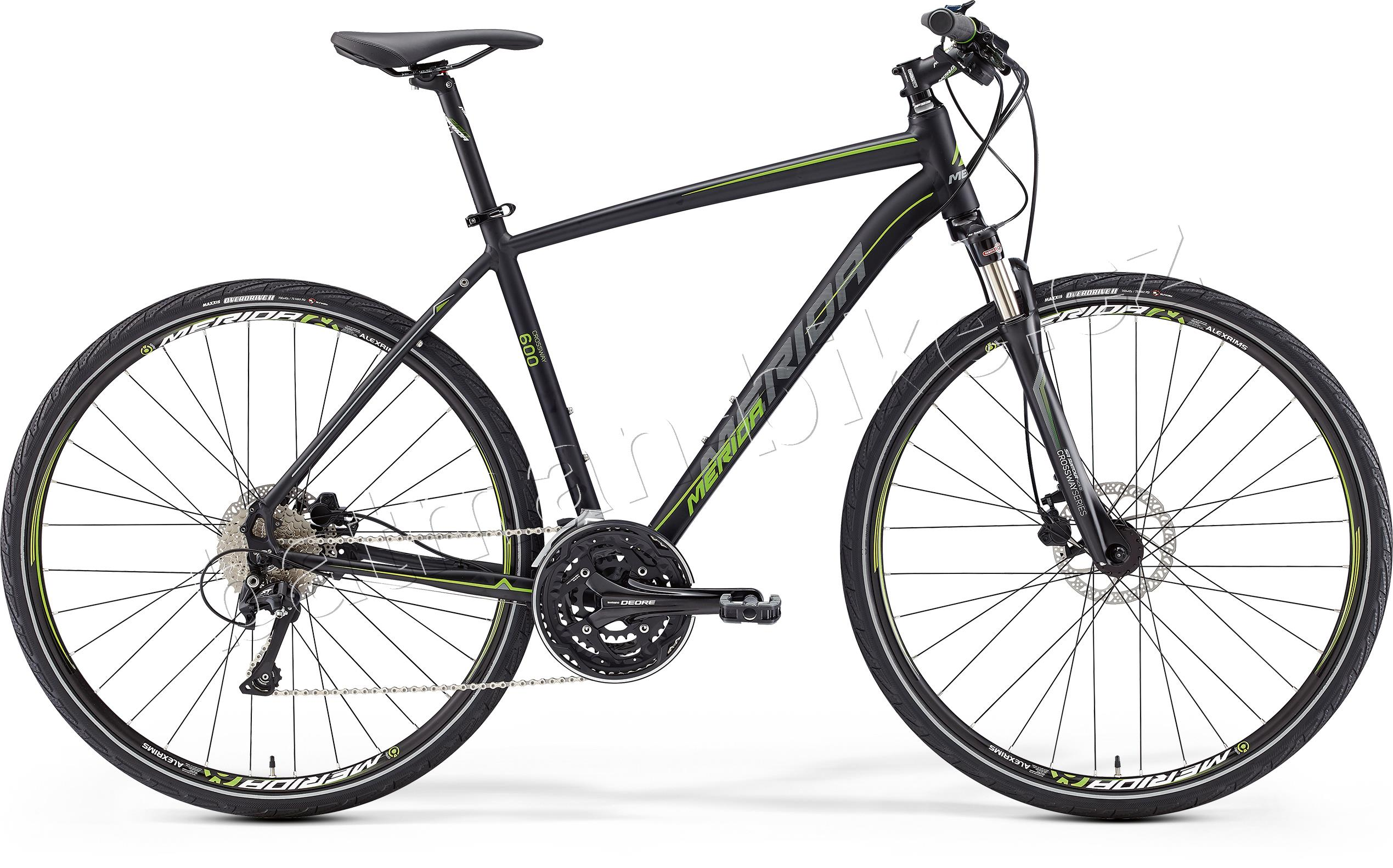 CROSSWAY 600 Matt Black(Green/Grey) 46