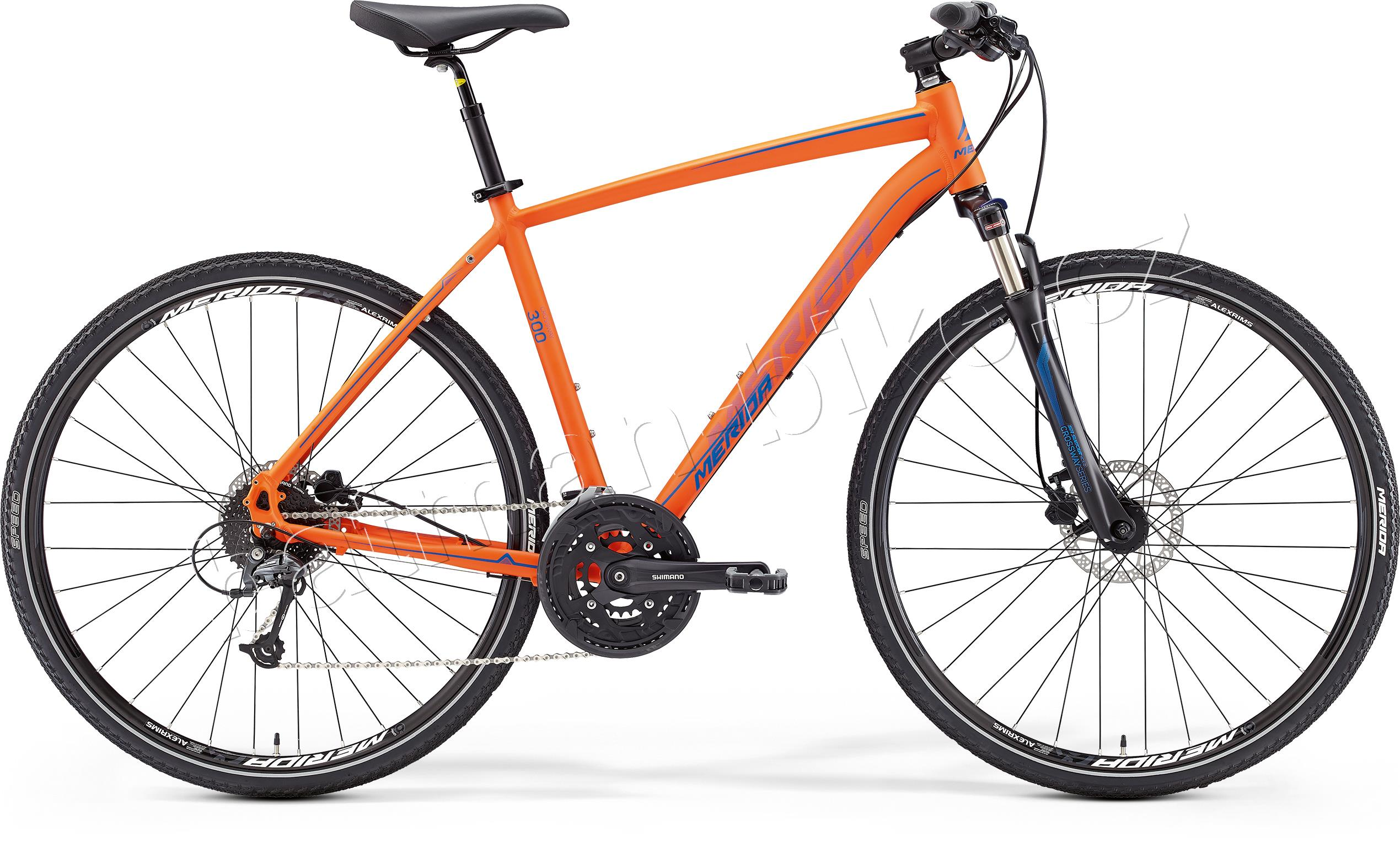 CROSSWAY 300 Matt Orange(Blue) 58