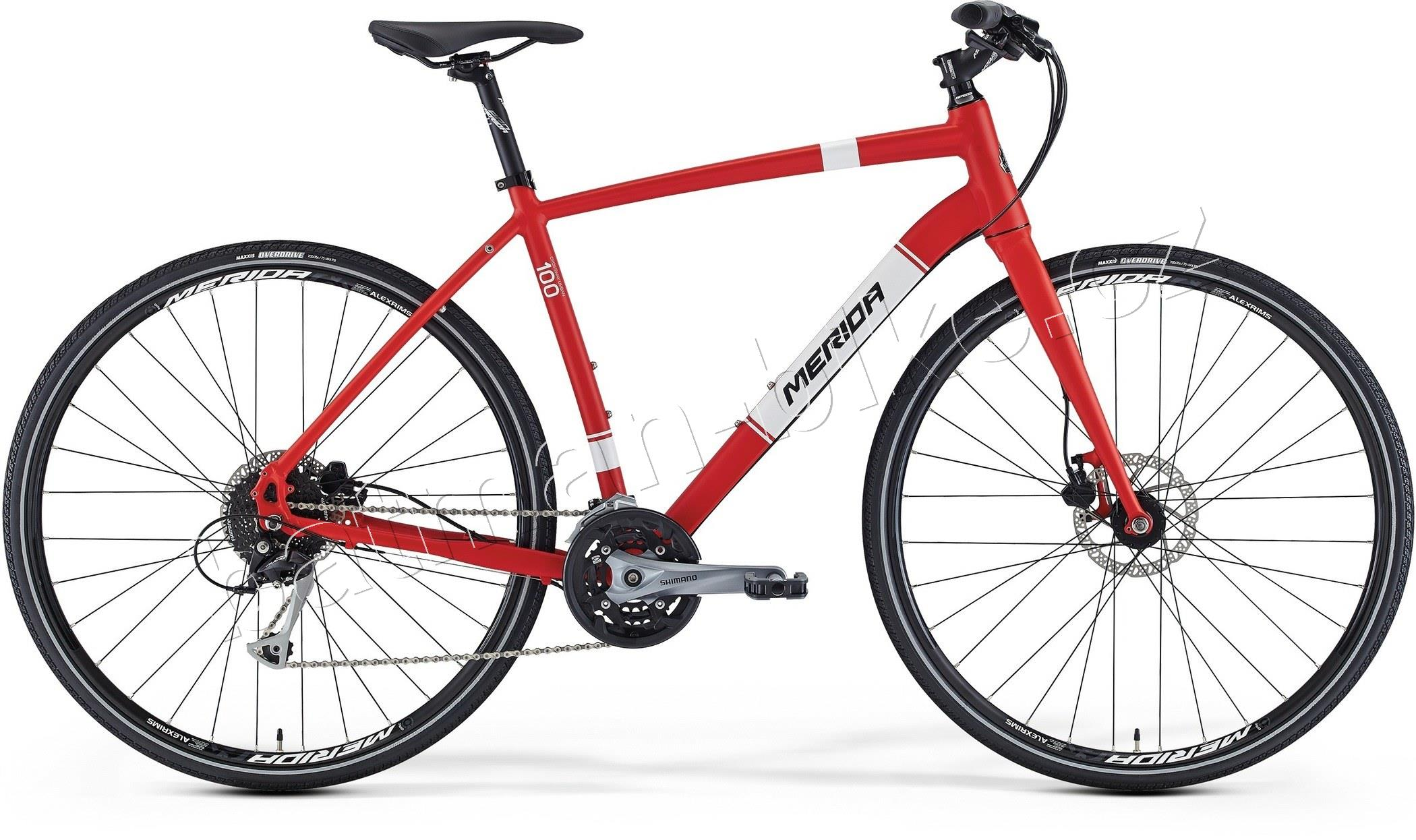 Merida CROSSWAY URBAN 100 Silk Red(Wht/Blk)