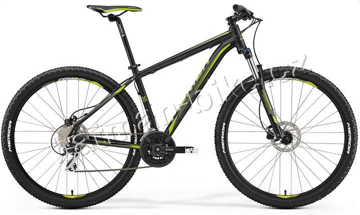 Merida BIG.NINE 20-D Matt Black (Green)* 23""