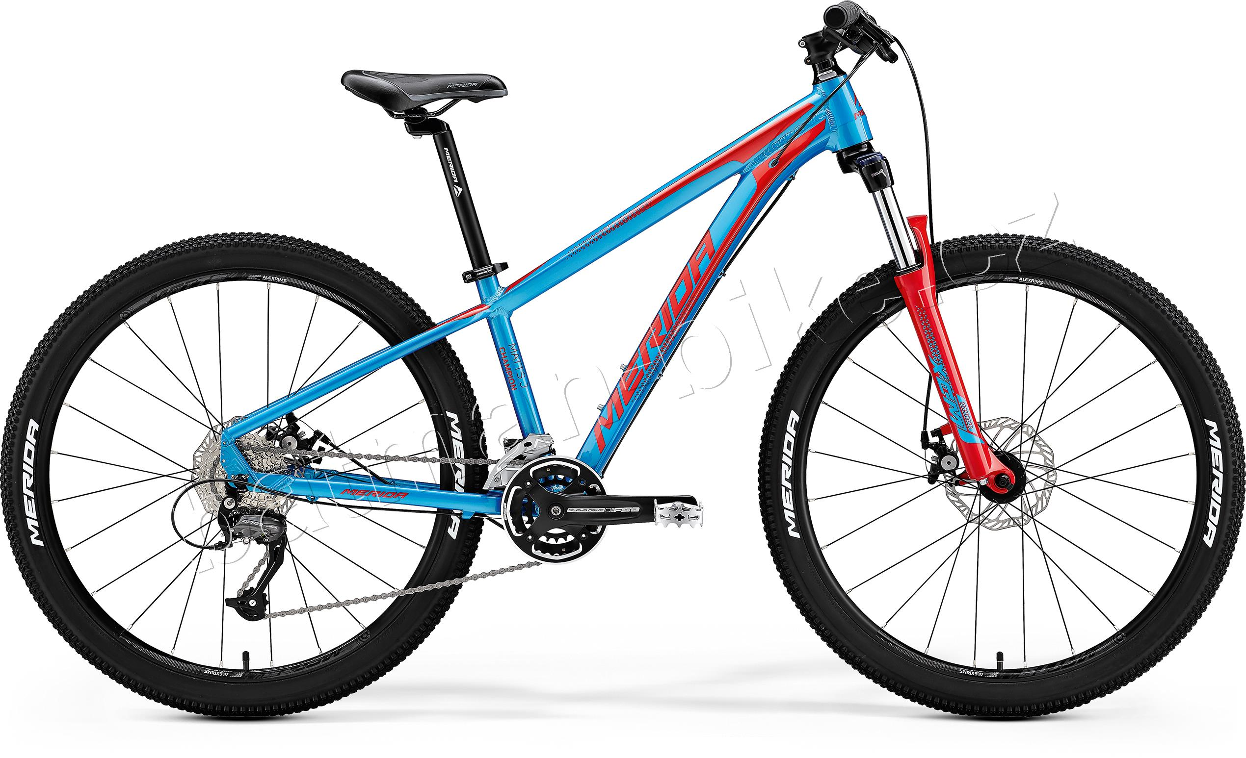 Merida MATTS JUNIOR CHAMPION Metallic Blue(Red) 13.5""