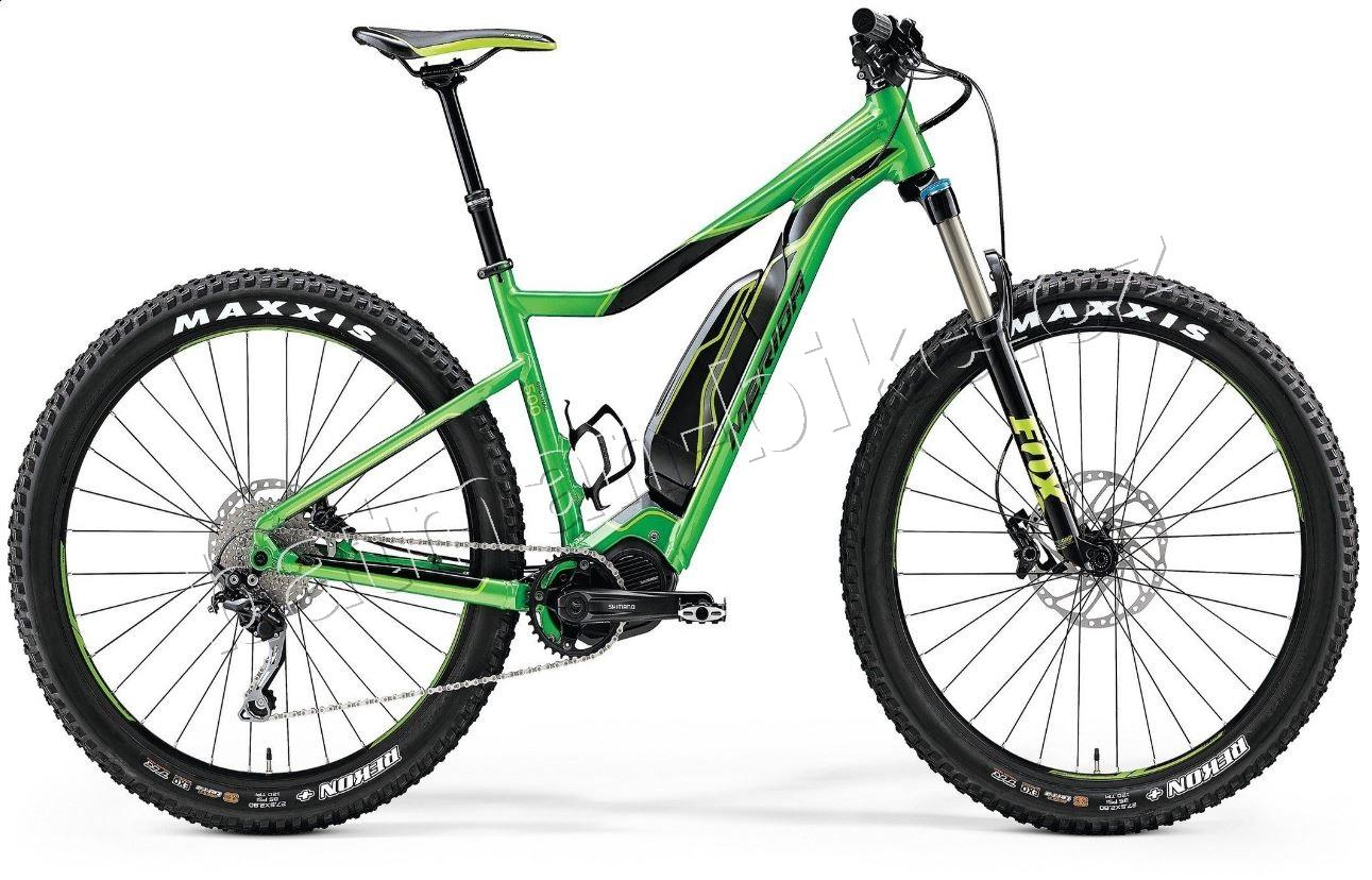Merida eBIG.TRAIL 500 Glossy Green / Black