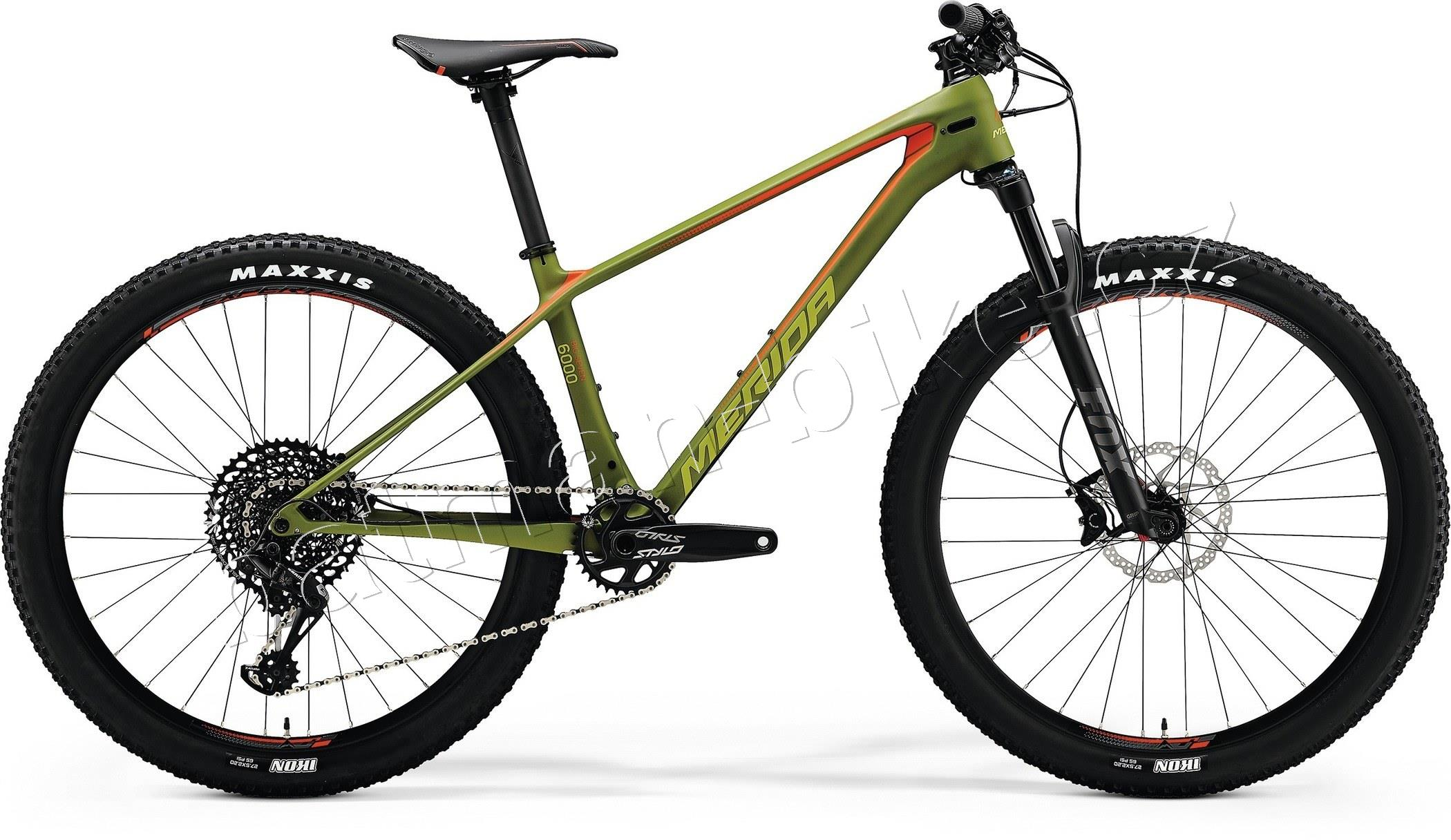 Merida BIG.SEVEN 6000 Matt Olive(Signal Red/Lite Brown)* L(19)