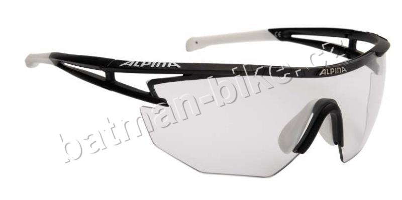 Brýle Alpina Eye-5 Shield VL+ black matt-white