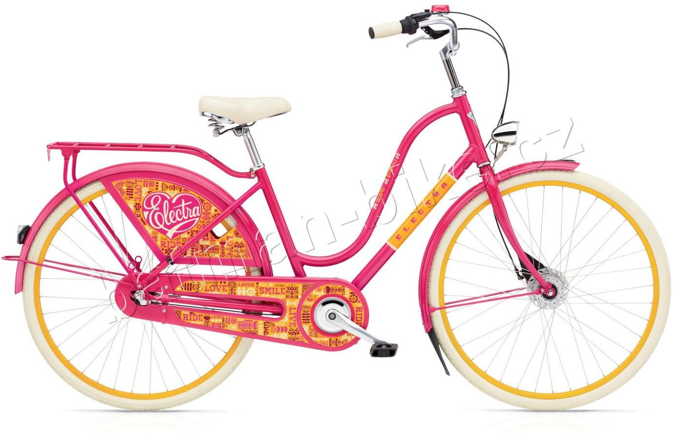 Electra Amsterdam Fashion 7i Joyride bright pink ladies'