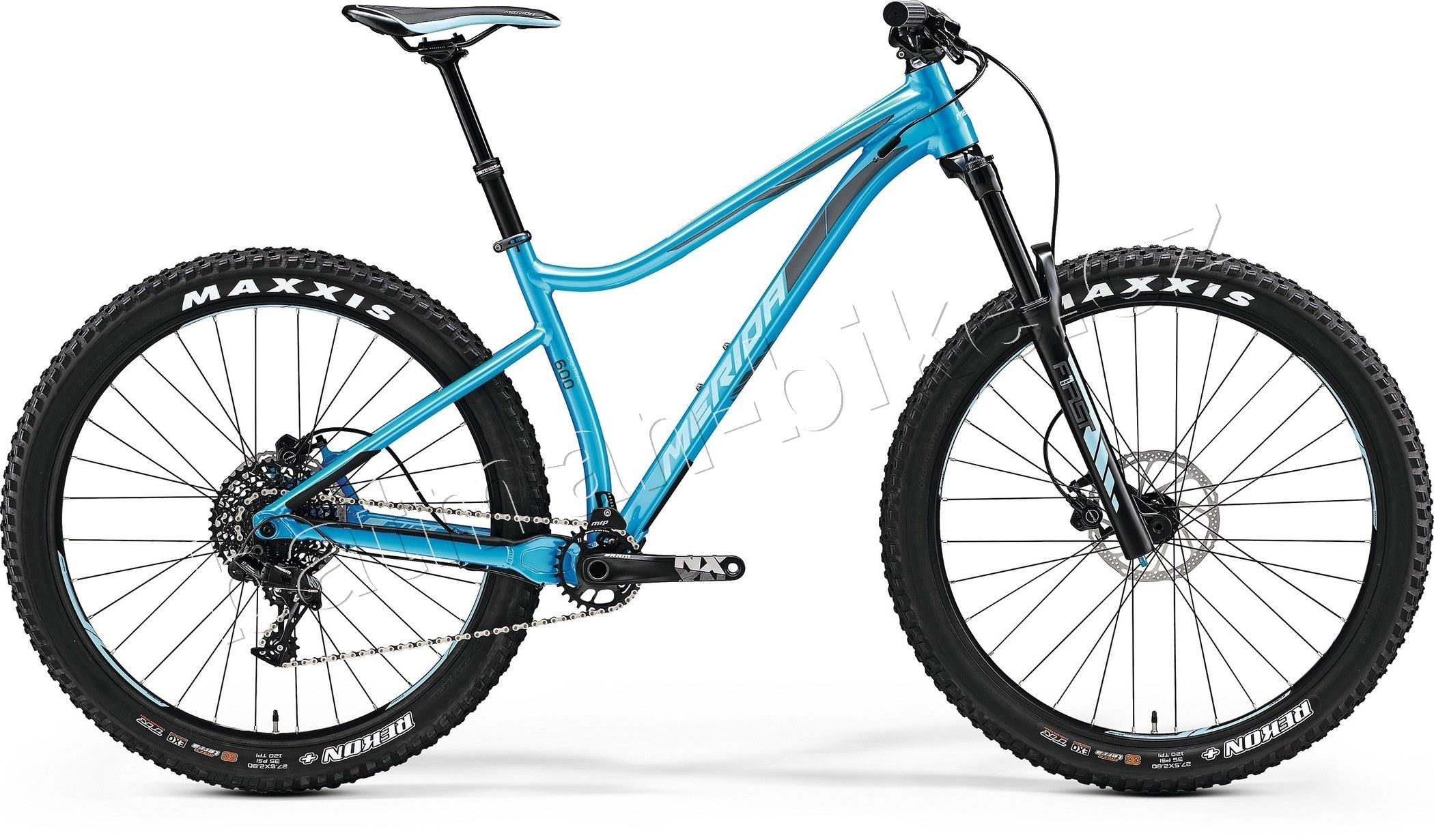 Merida BIG TRAIL 600 Metallic Blue(Grey/Blue) 21""