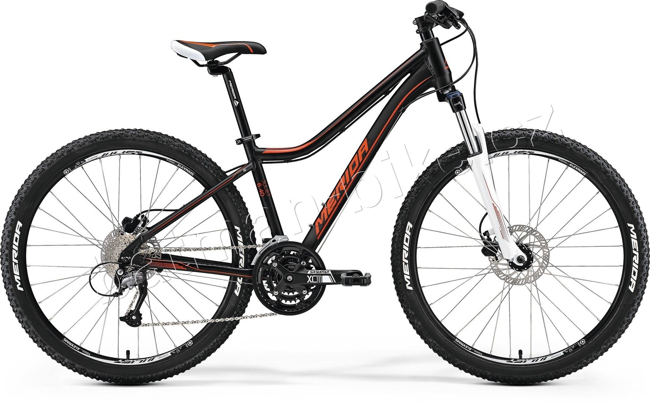 Merida JULIET 7.40-D Matt Black(Red)