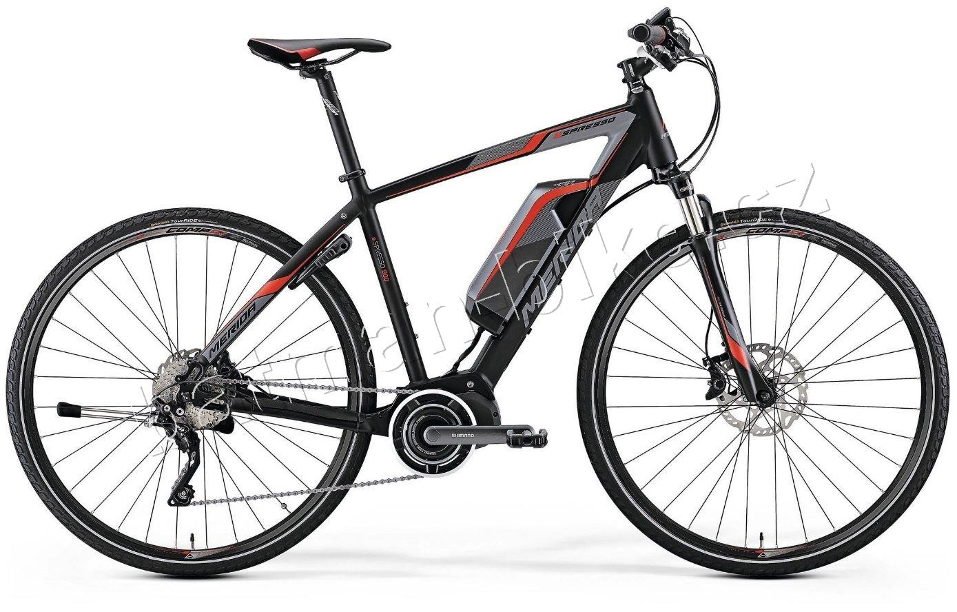 Merida eSPRESSO 900 Sport Matt Black/Grey(Signal Red)