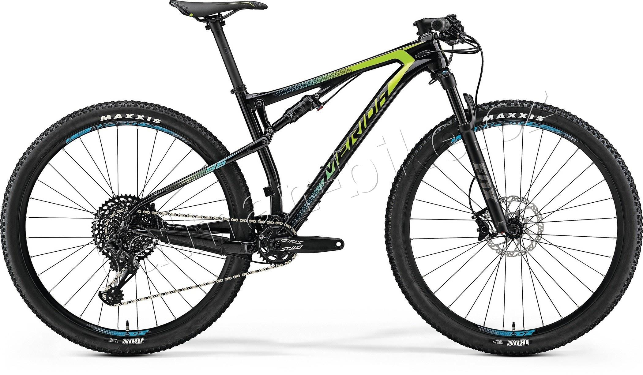 Merida NINETY-SIX 9.6000 Ud Carbon(Green/Blue)