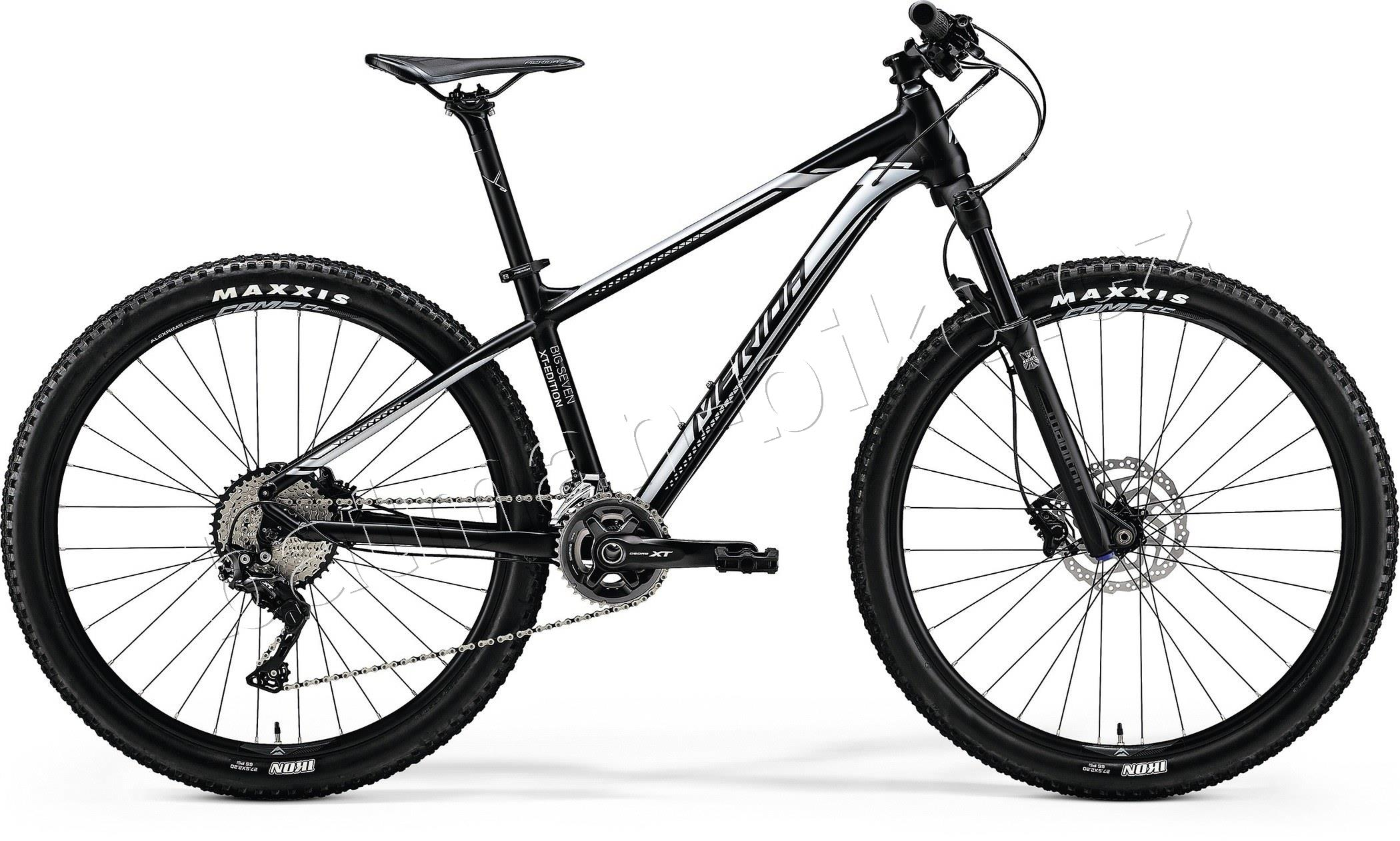 Merida BIG.SEVEN XT EDITION Matt Black(Silver)* S(15)