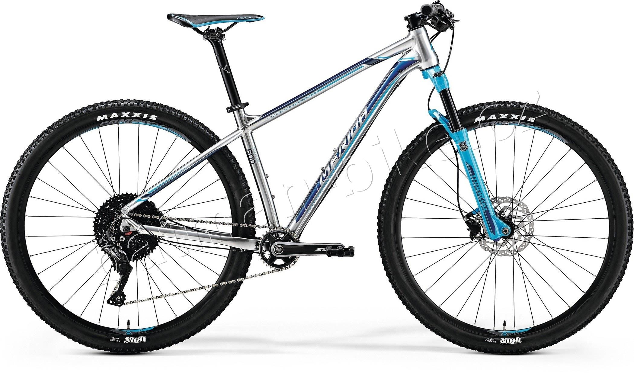 Merida BIG.NINE 600 Shiny Silver(Sky Blue/Blue)