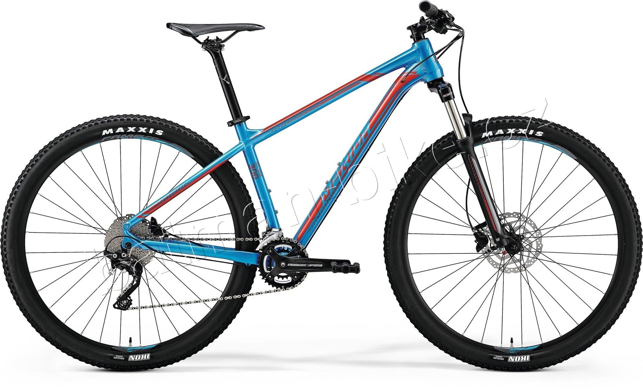 Merida BIG.NINE 300 Metallic Blue(Red)