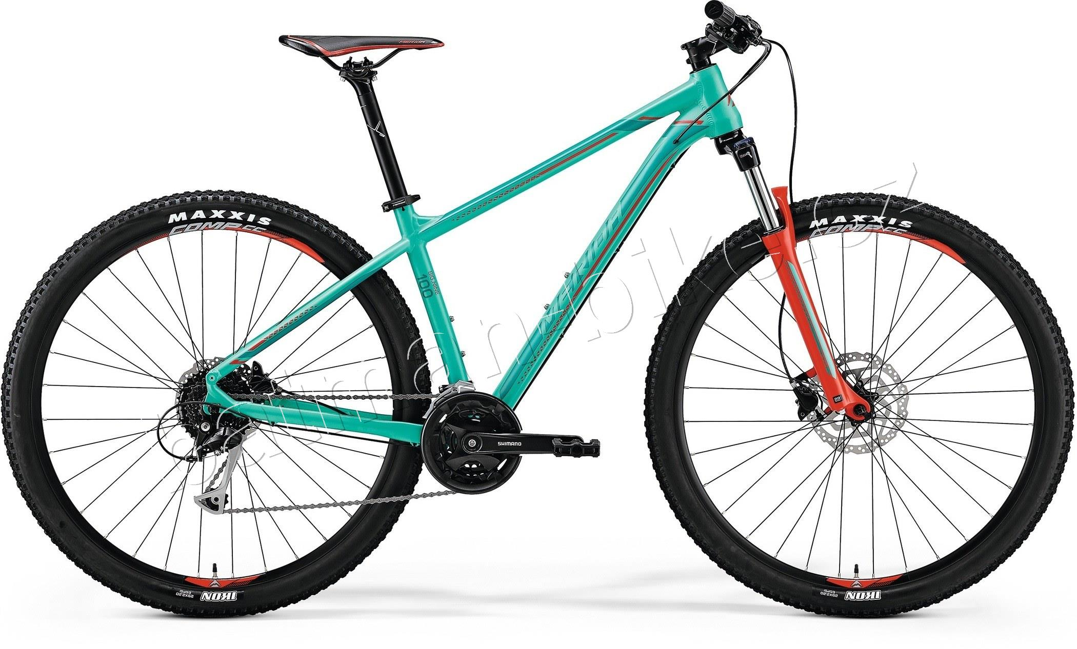 Merida BIG.NINE 100 Green(Red/Dark Green)