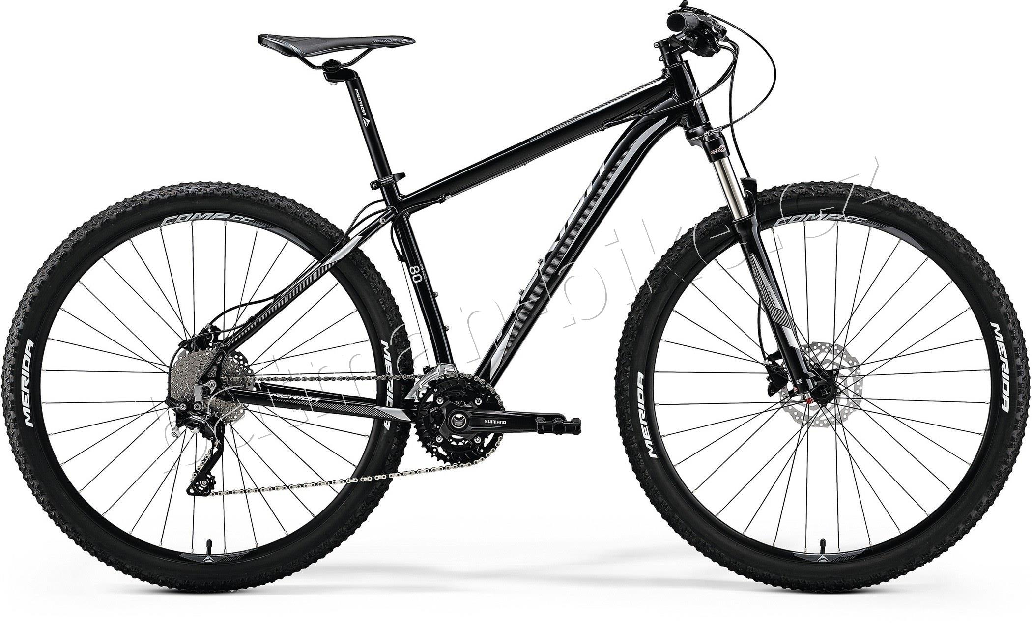 Merida BIG.NINE 80-D Metallic Black(Silver)