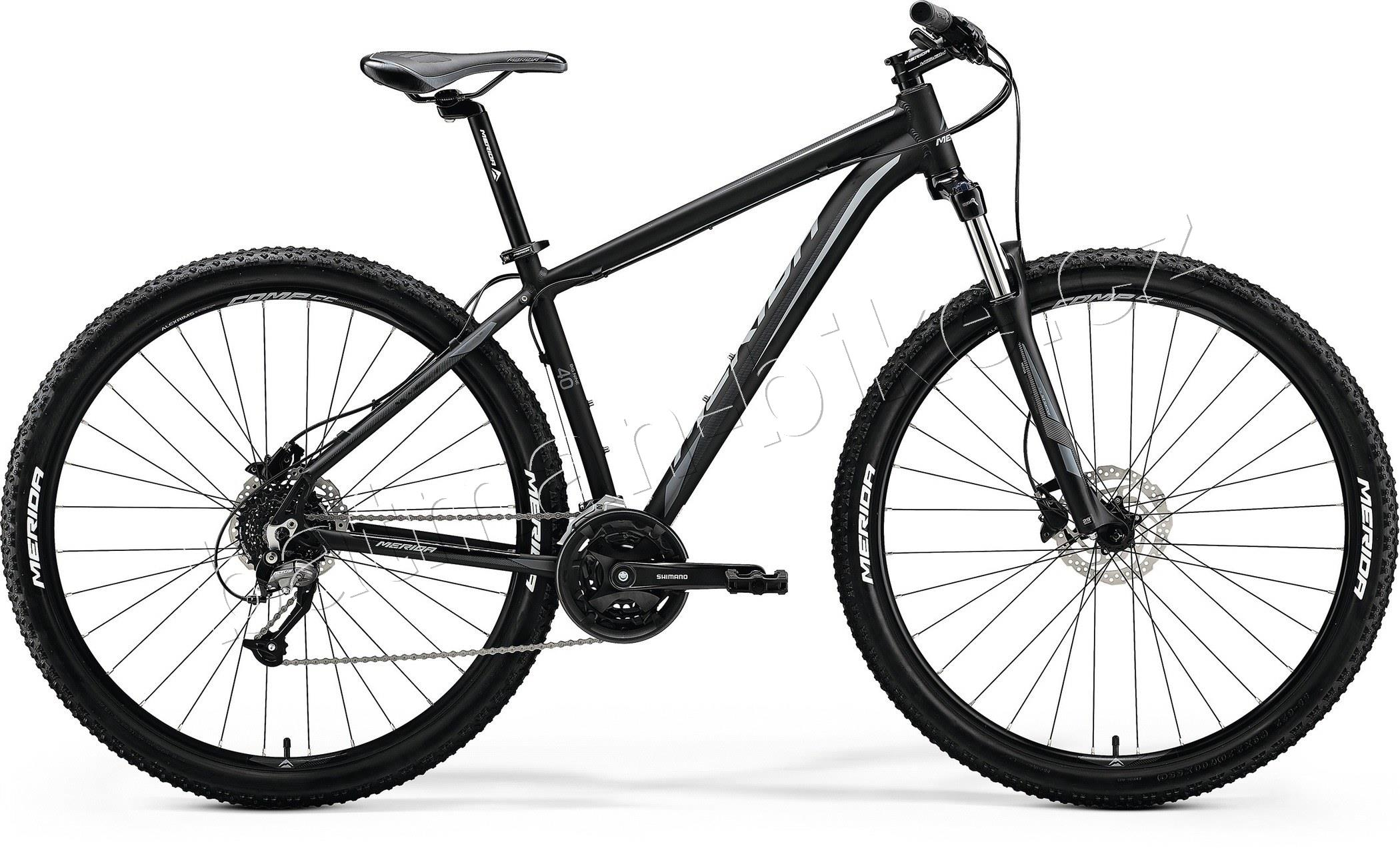 Merida BIG.NINE 40-D Matt Black(Grey)