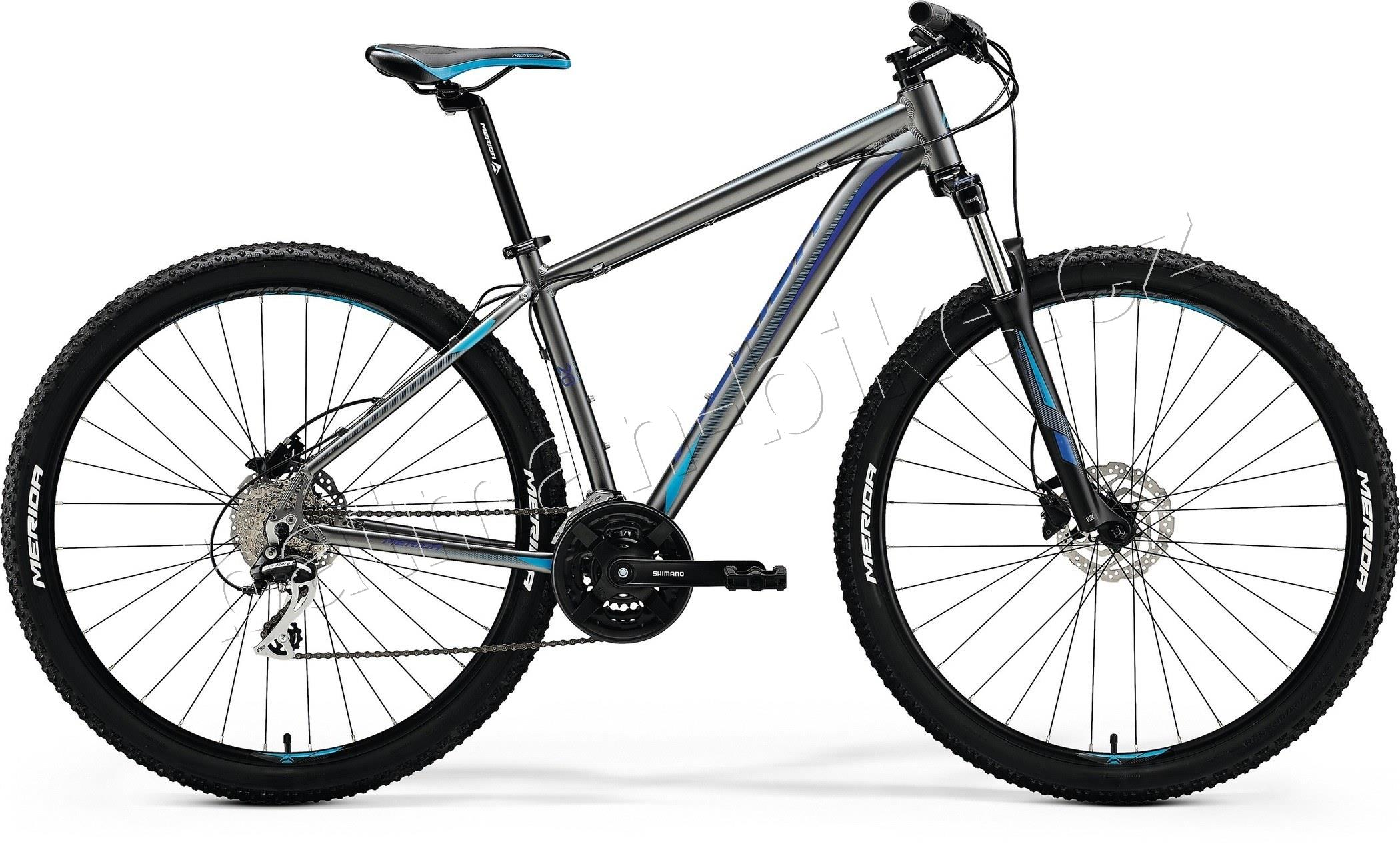 Merida BIG.NINE 20-D Silk Anthracite(Sky Blue/Blue)