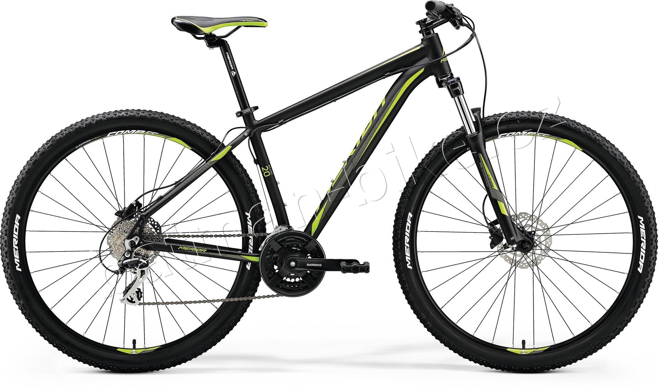 Merida BIG.NINE 20-D Matt Black(Green)