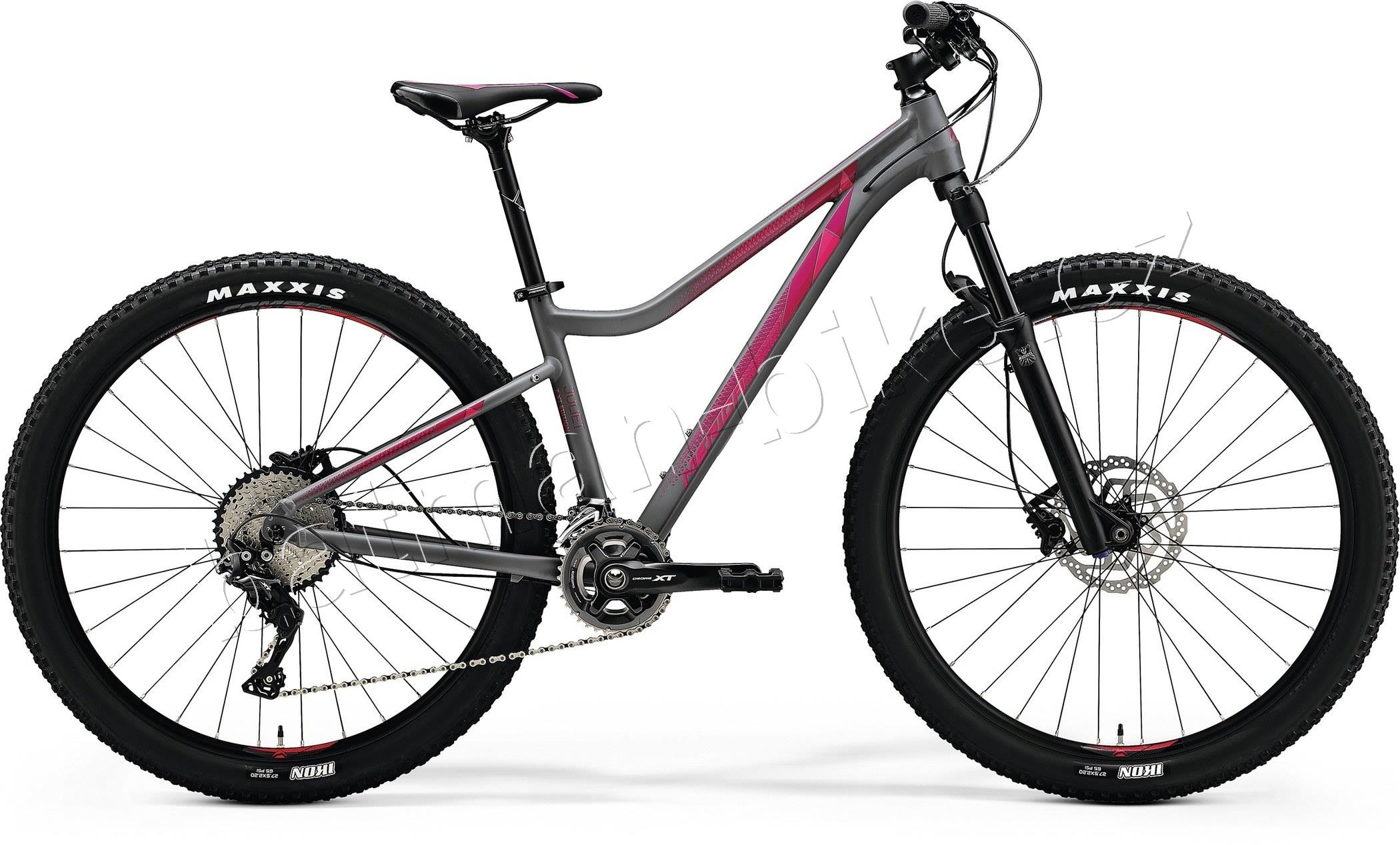 Merida JULIET 7.XT EDITION Matt Grey(Pink)