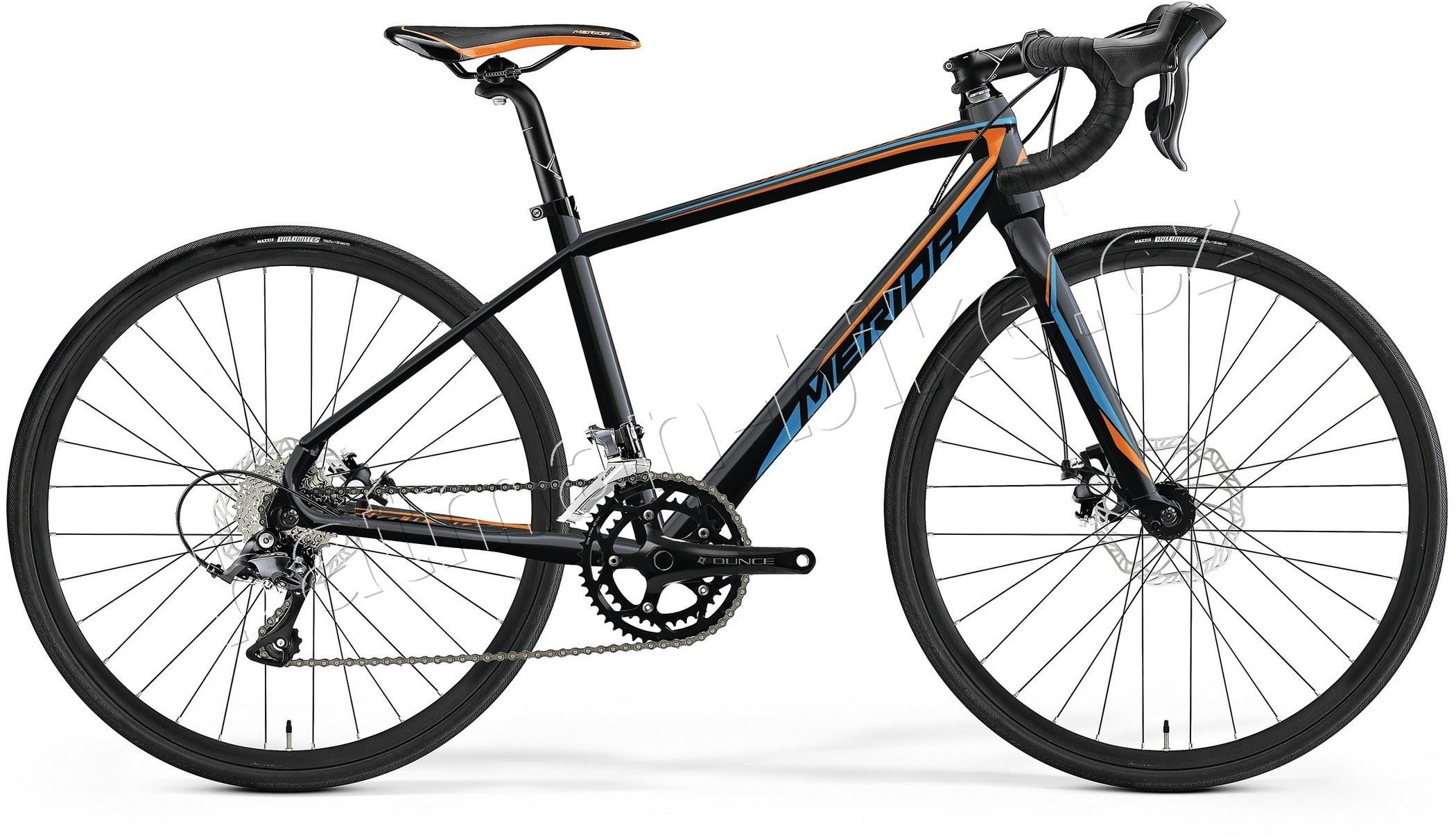 Merida MISSION J ROAD Met. Black(Orange/Blue) 39cm