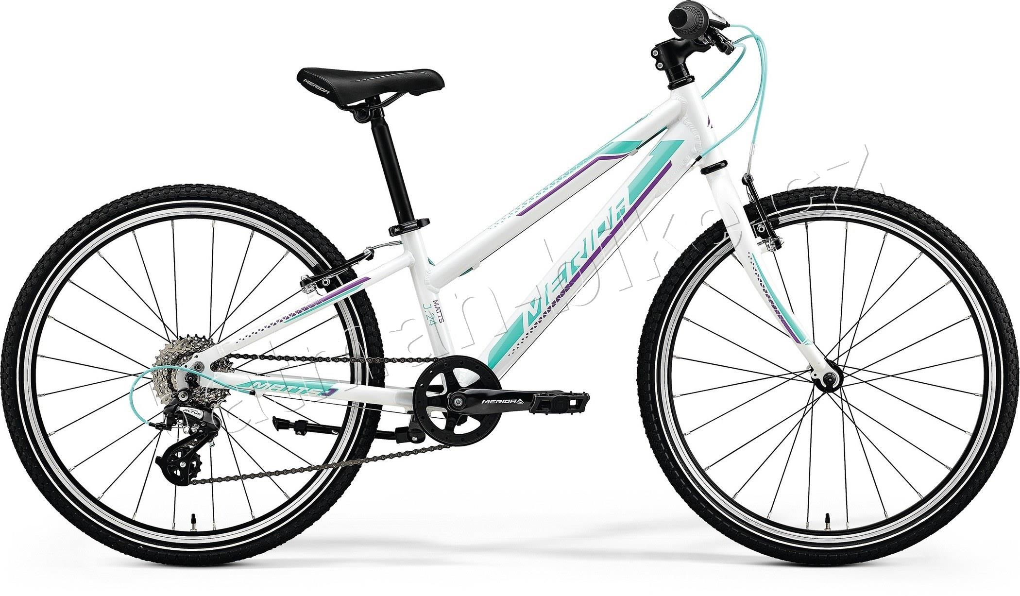 "Merida MATTS J.24 RACE Pearl White(Purple/Teal) 11.5""L"