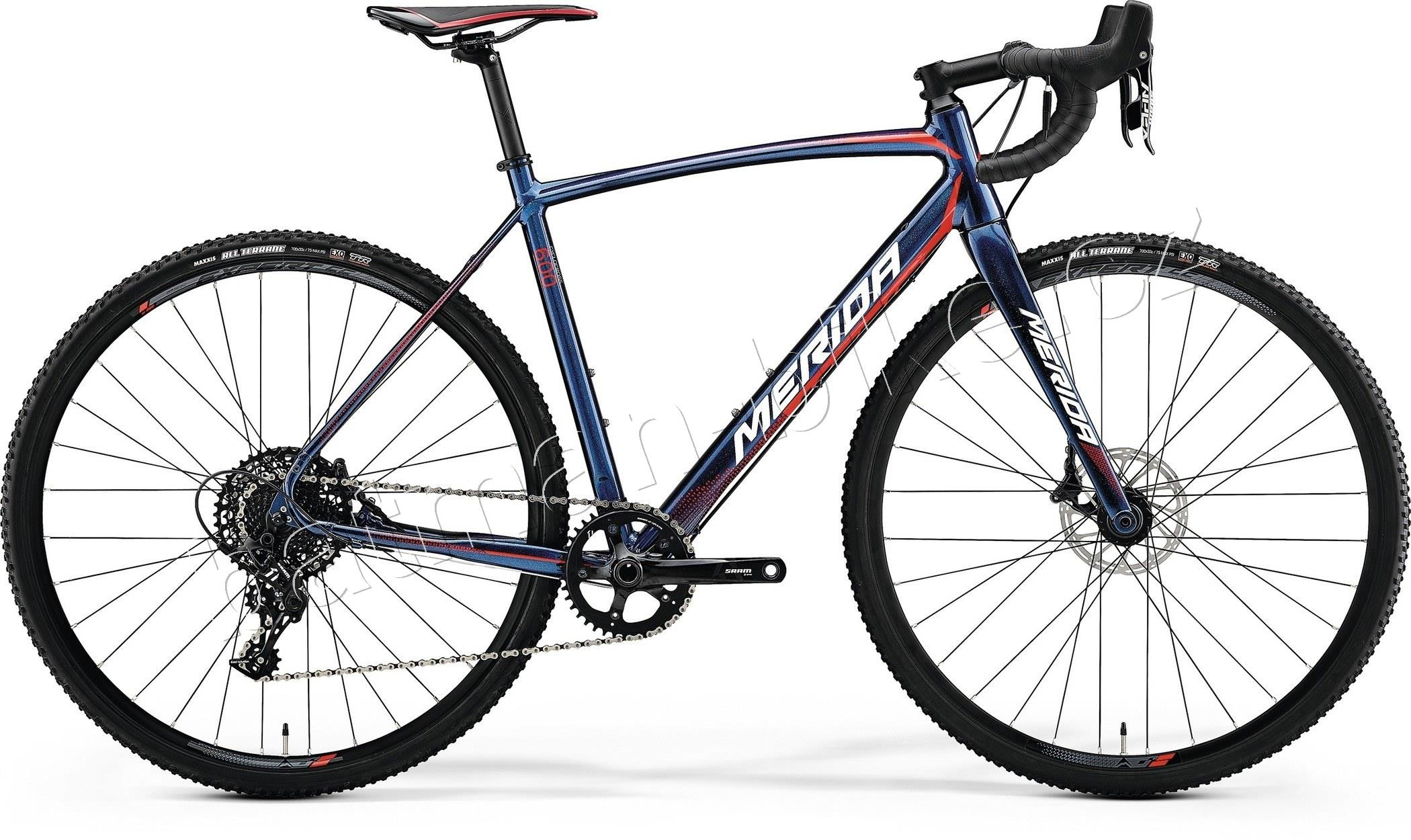 Merida CYCLO CROSS 600 Shiny Dark Starry Blue(Red/White)