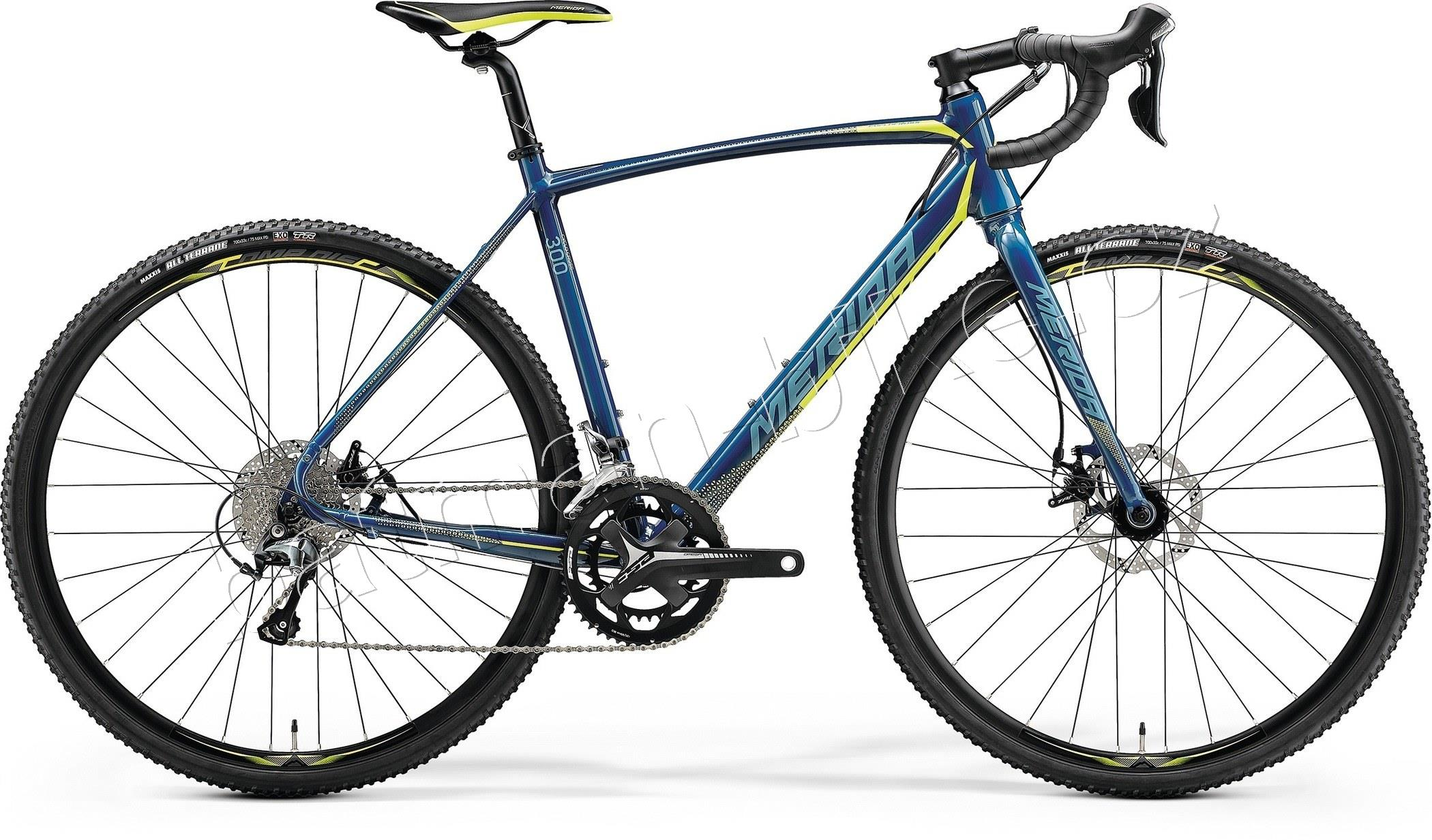 Merida CYCLO CROSS 300 Petrol(Yellow/Lite Teal)